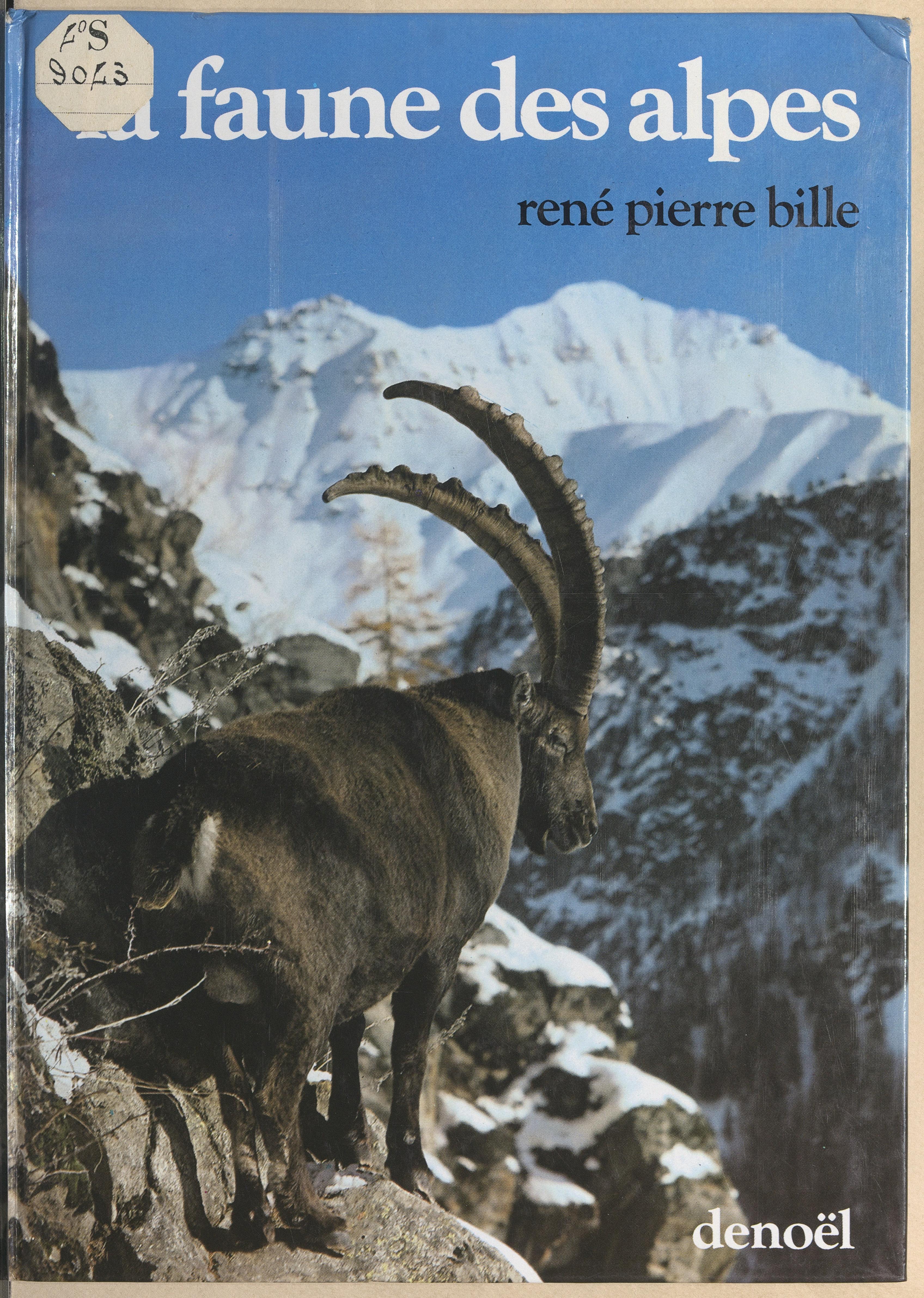 La faune des Alpes