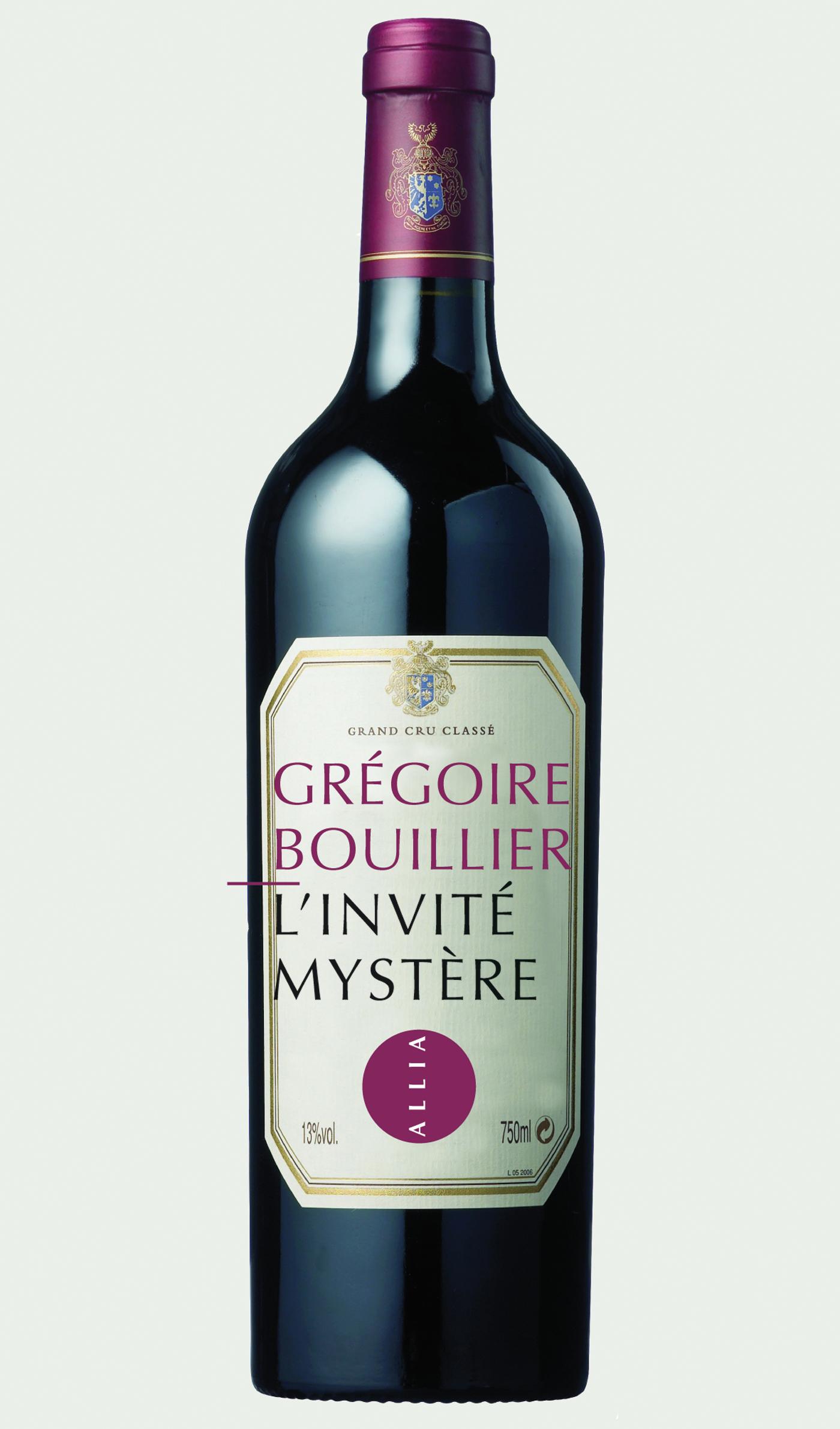 L'Invité mystère | BOUILLIER, Grégoire
