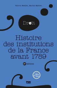 Histoire des institutions p...
