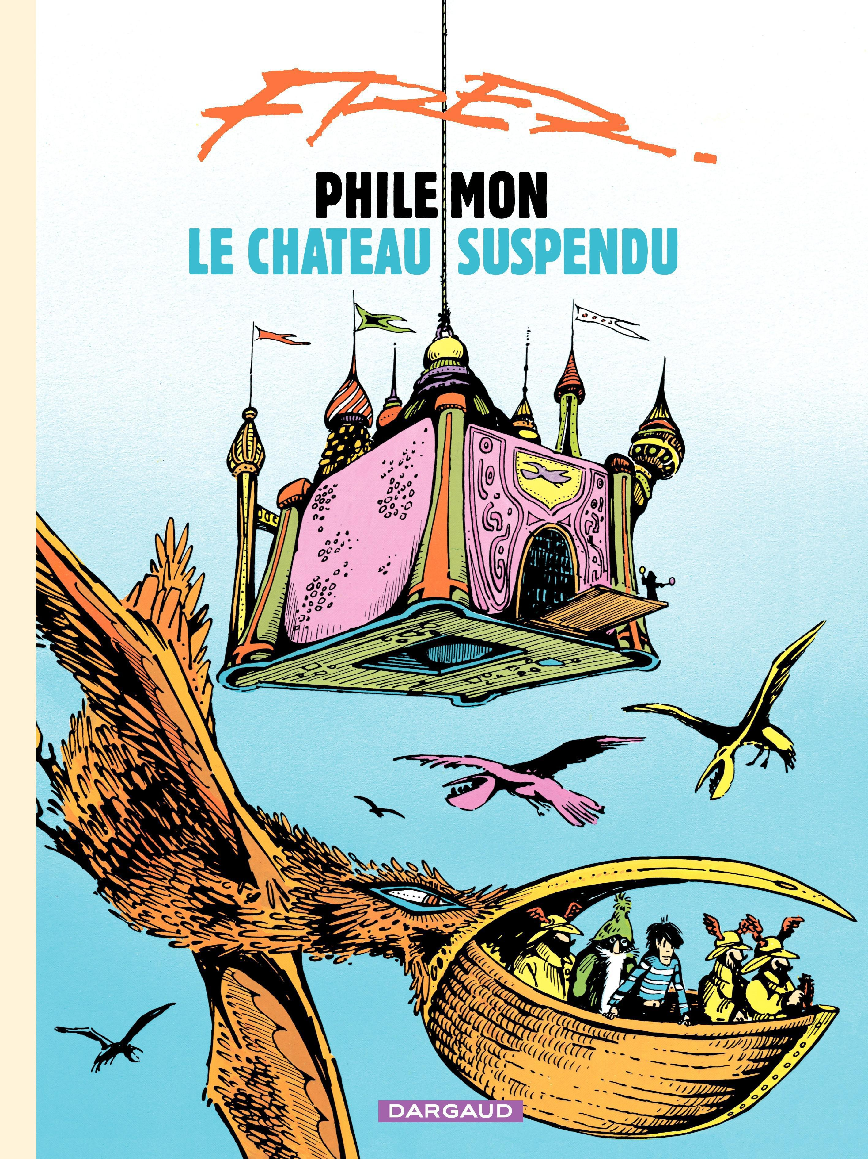 Philémon - tome 04 - Le château suspendu