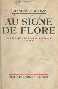 Au signe de Flore : souveni...