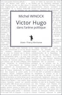 Victor Hugo dans l'arène po...
