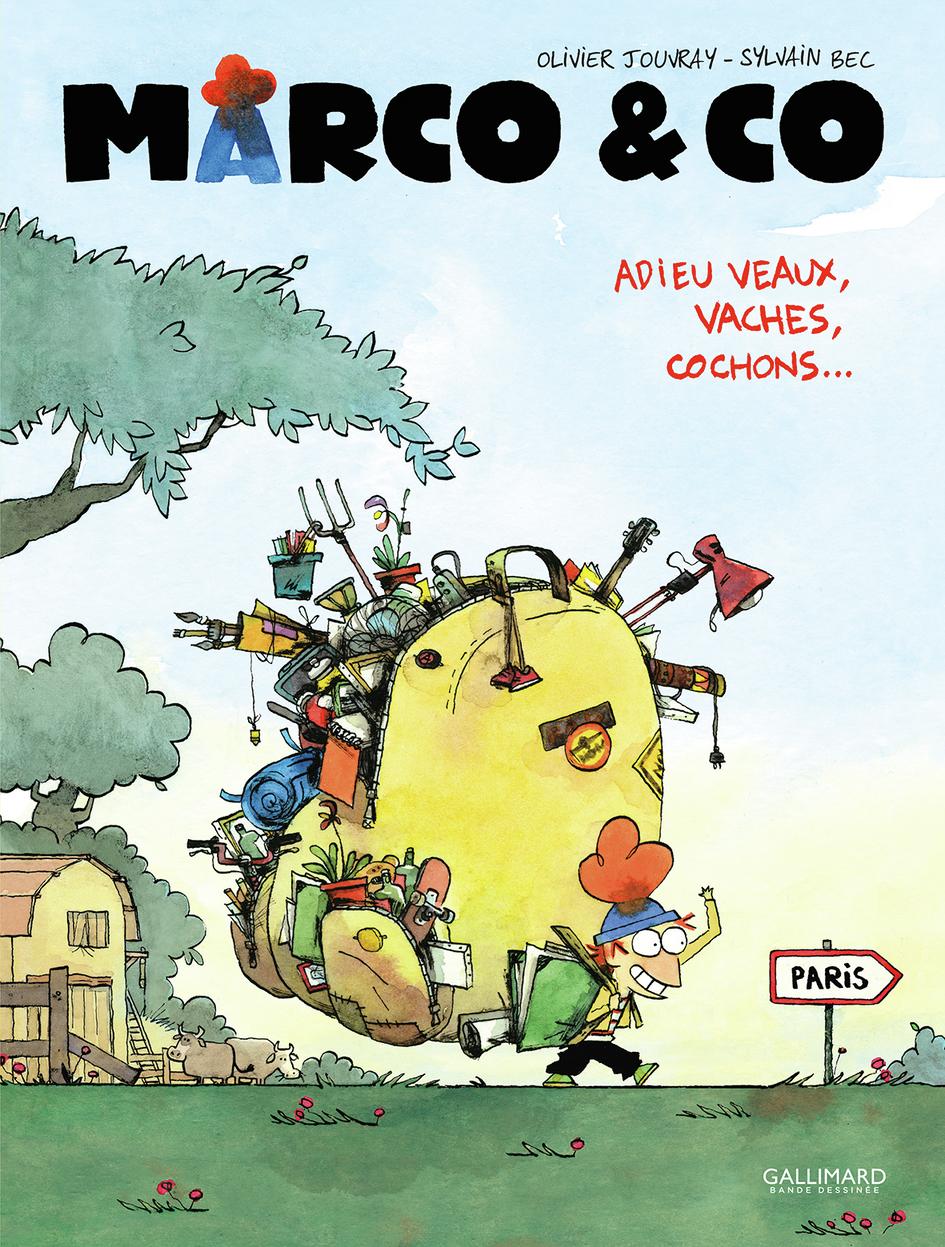 Marco & Co (Tome 1) - Adieu veaux, vaches, cochons !