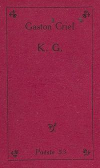 K. G.