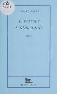 L'Europe sentimentale