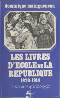 Les livres d'école de la Ré...