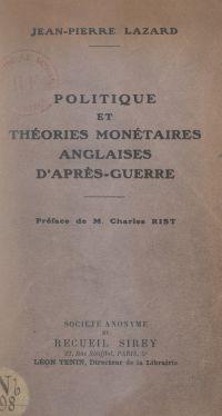 Politique et théories monét...