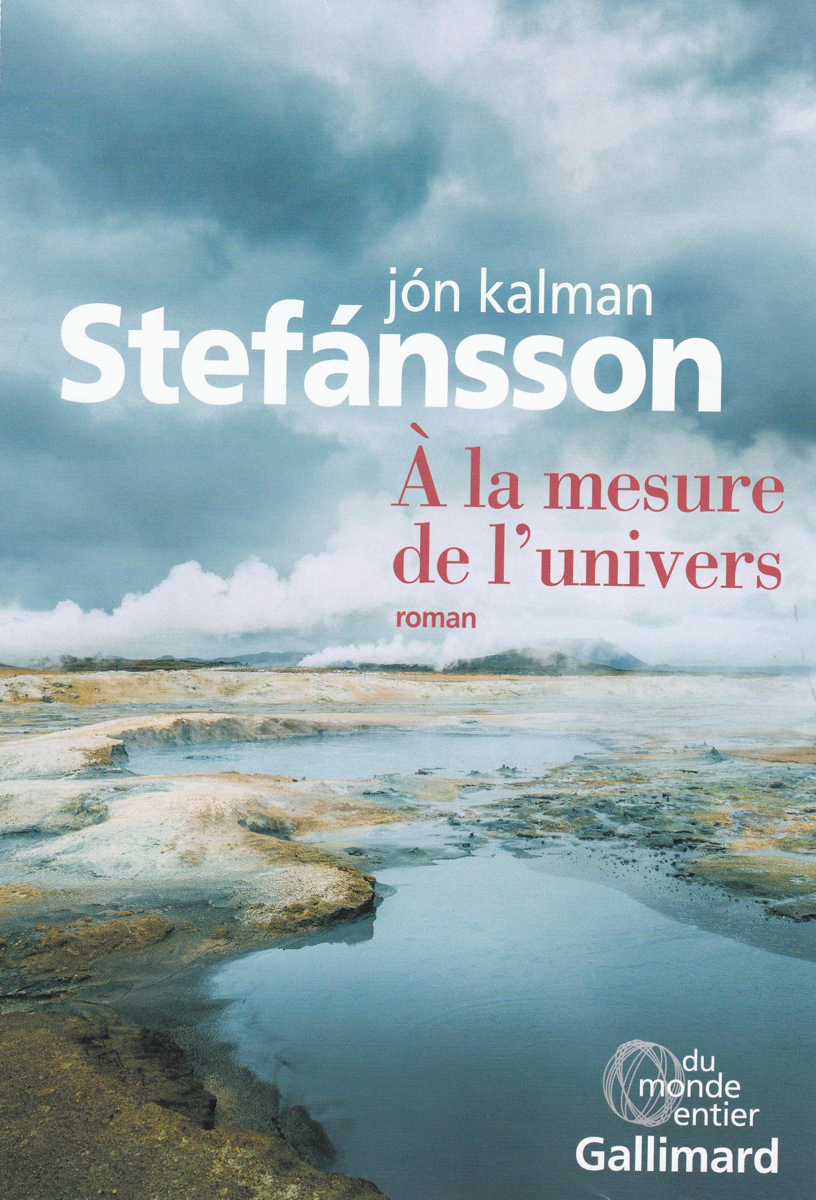 Chronique familiale (Tome 2) - À la mesure de l'univers   Stefansson, Jon Kalman