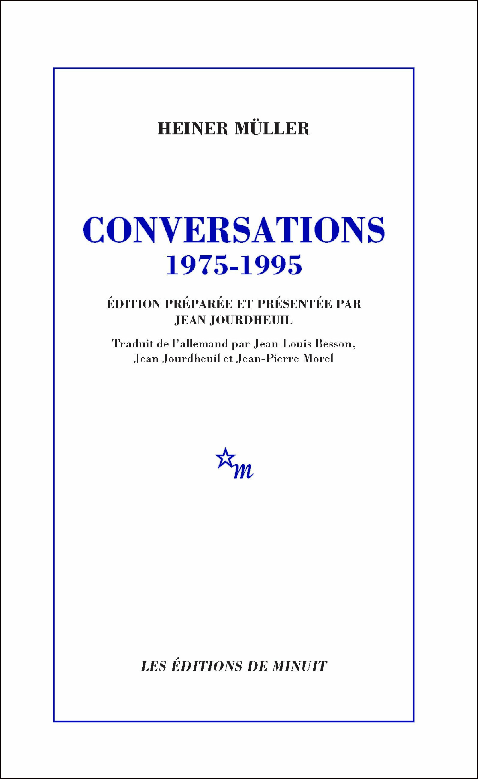 Conversations, 1975-1995
