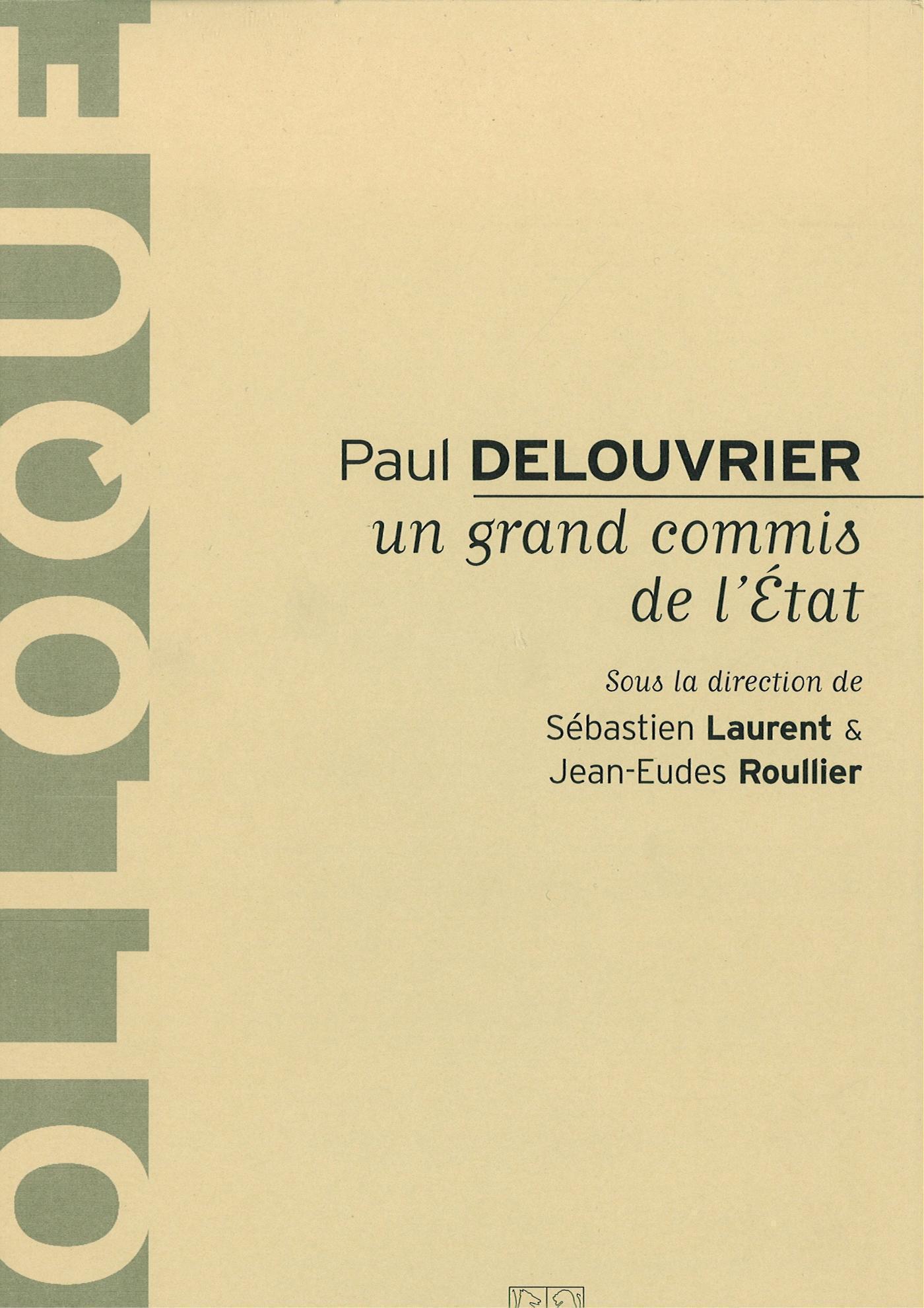 Paul Delouvrier, un grand commis de l'Etat