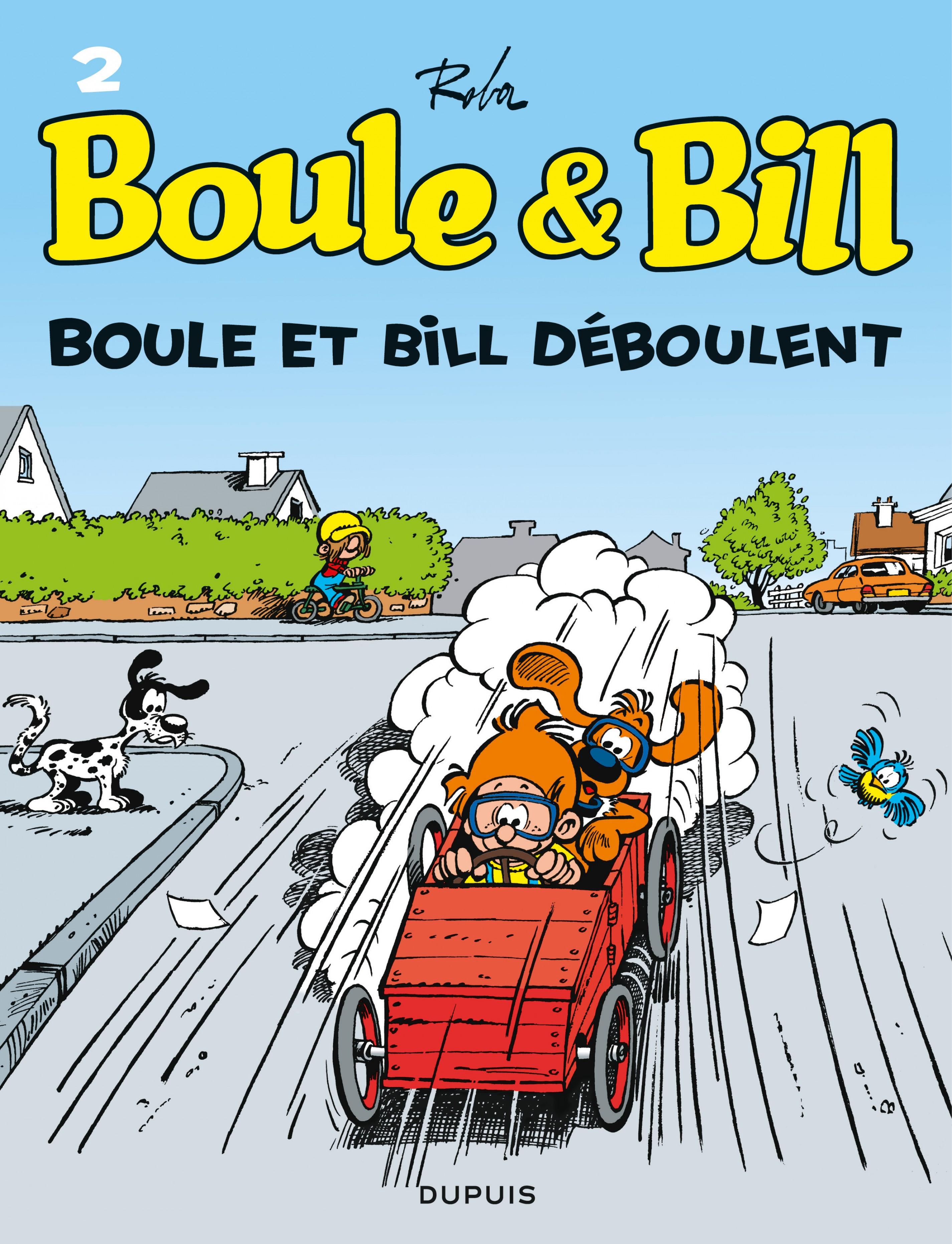 Boule et Bill - Tome 2 - Boule et Bill déboulent