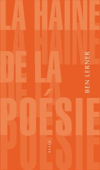 La Haine de la poésie