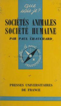 Sociétés animales, société ...
