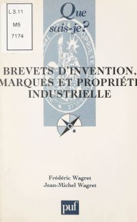 Brevets d'invention, marque...