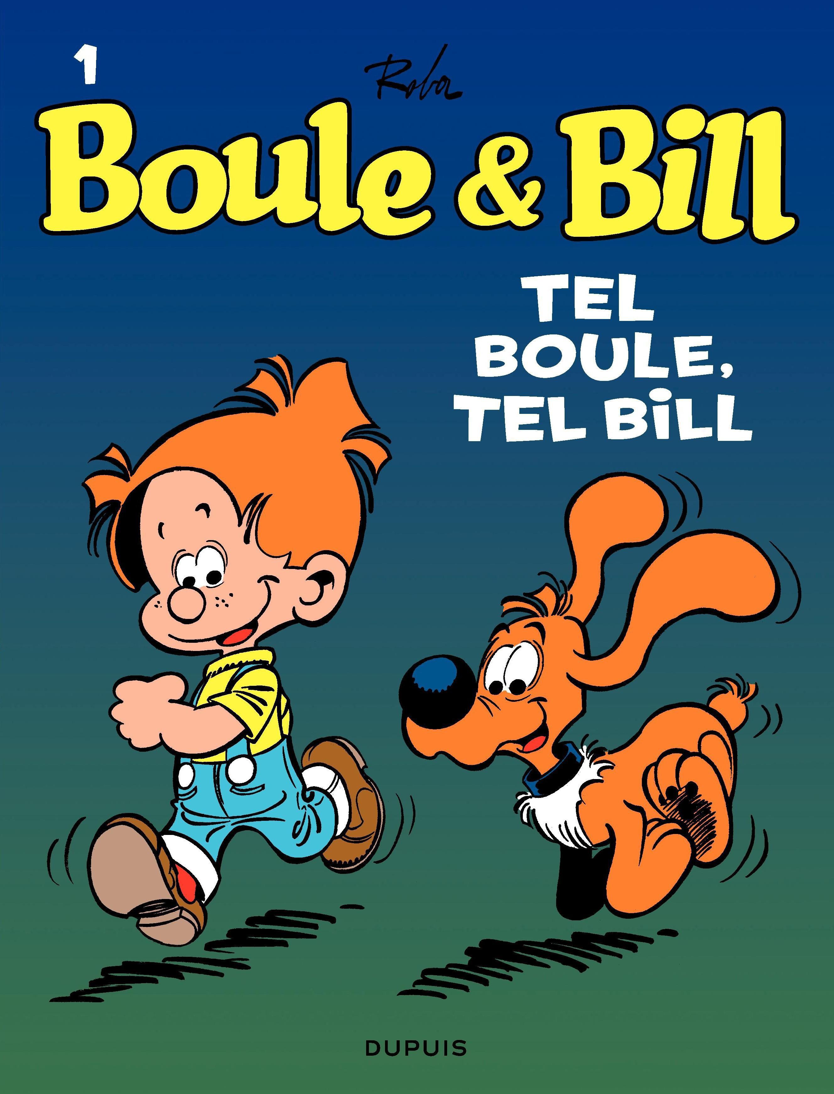 Boule et Bill - tome 01 - Tel Boule, tel Bill