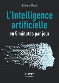 Image de couverture (Le Petit Livre L'IA (intelligence artificielle) en 5 minutes par jour)