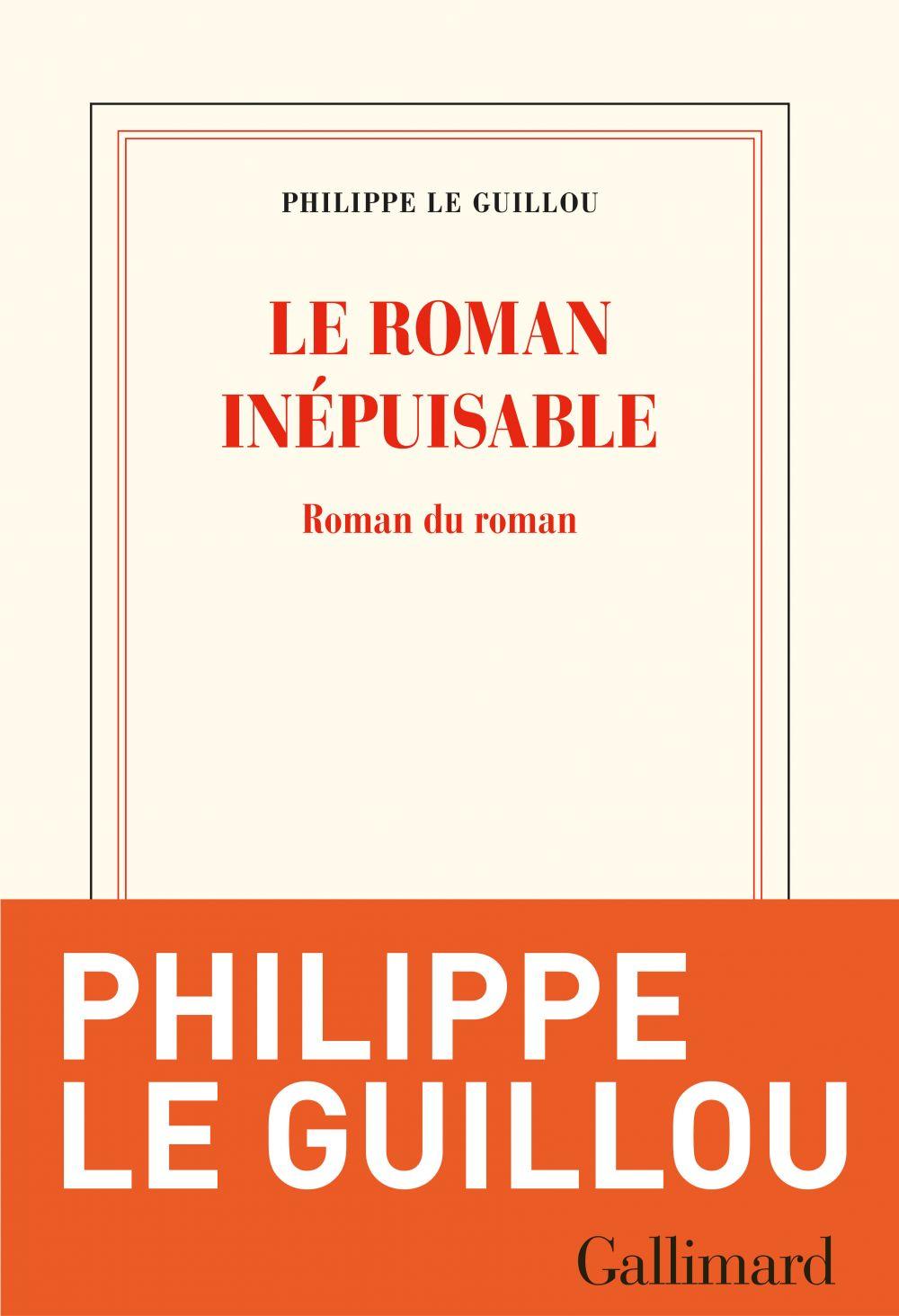 Le roman inépuisable. Roman du roman |