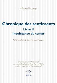 Chronique des sentiments (T...