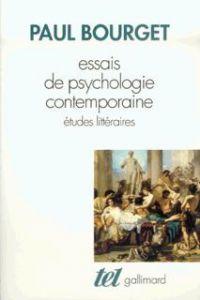 Essais de psychologie conte...