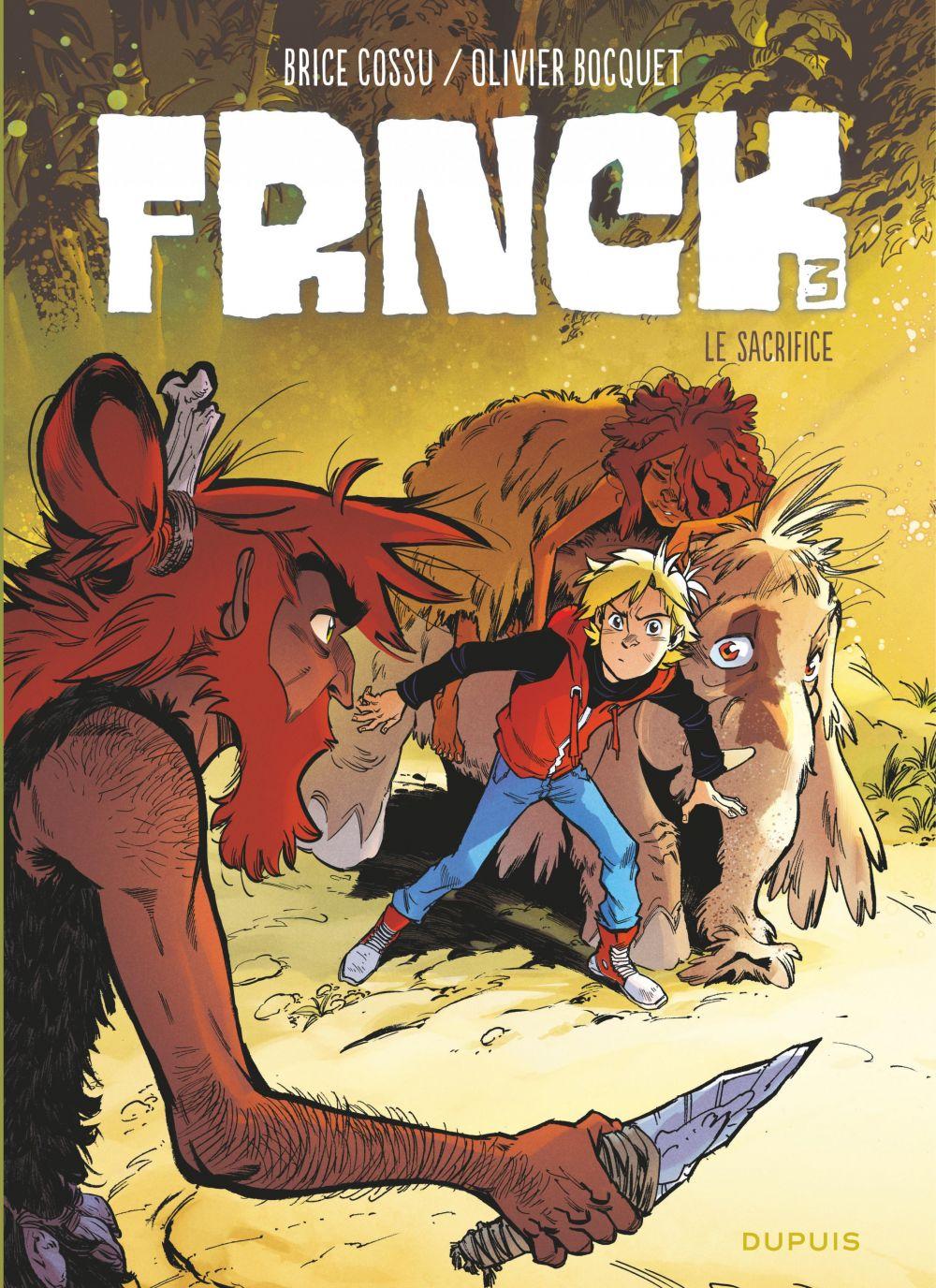 FRNCK - Tome 3 - Le sacrifice   Olivier Bocquet, . Auteur