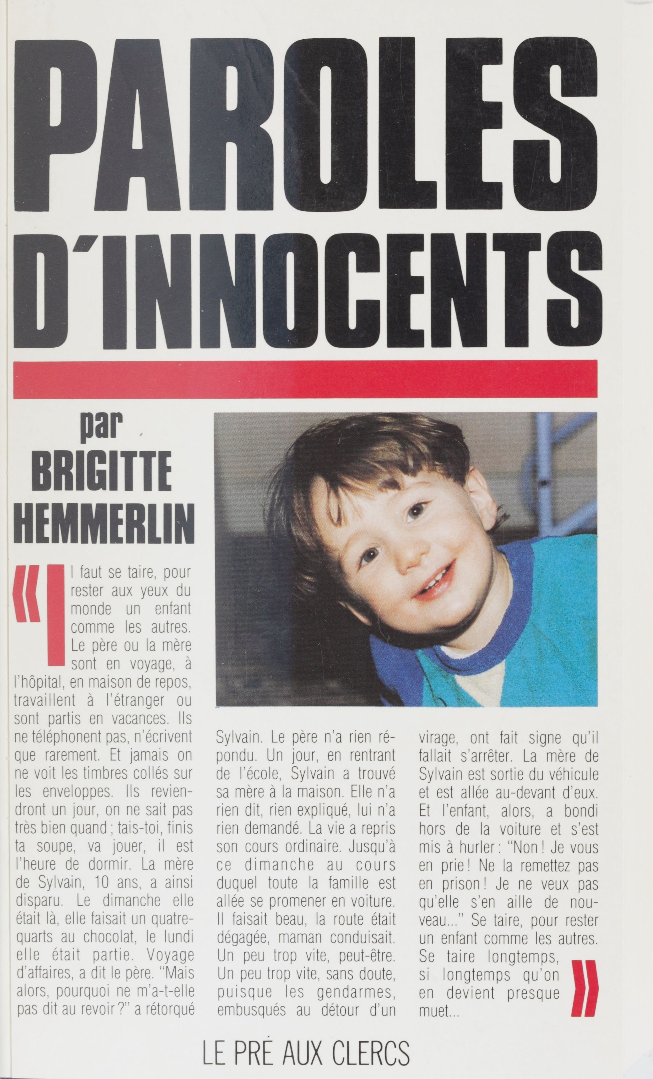Paroles d'innocents