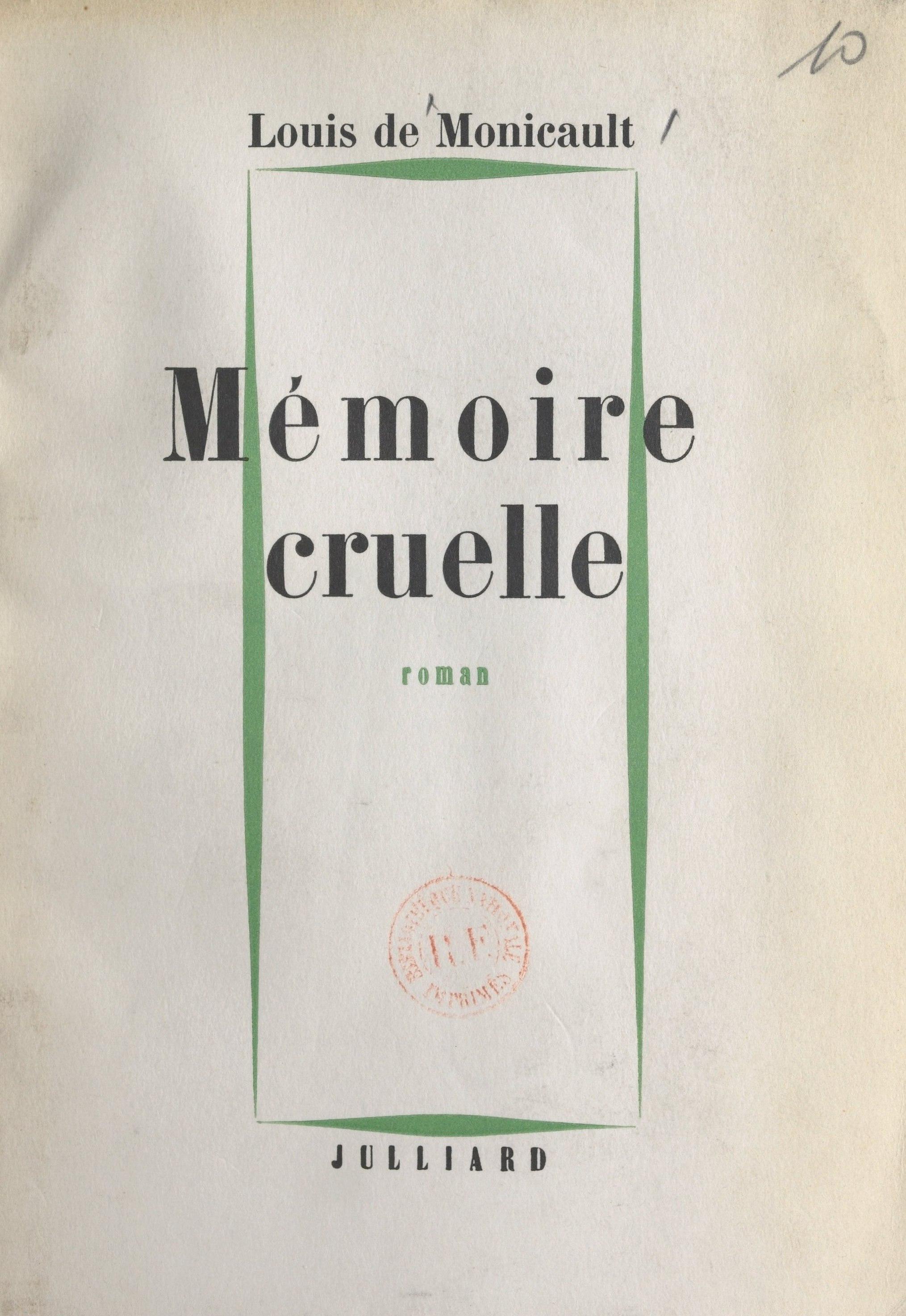 Mémoire cruelle