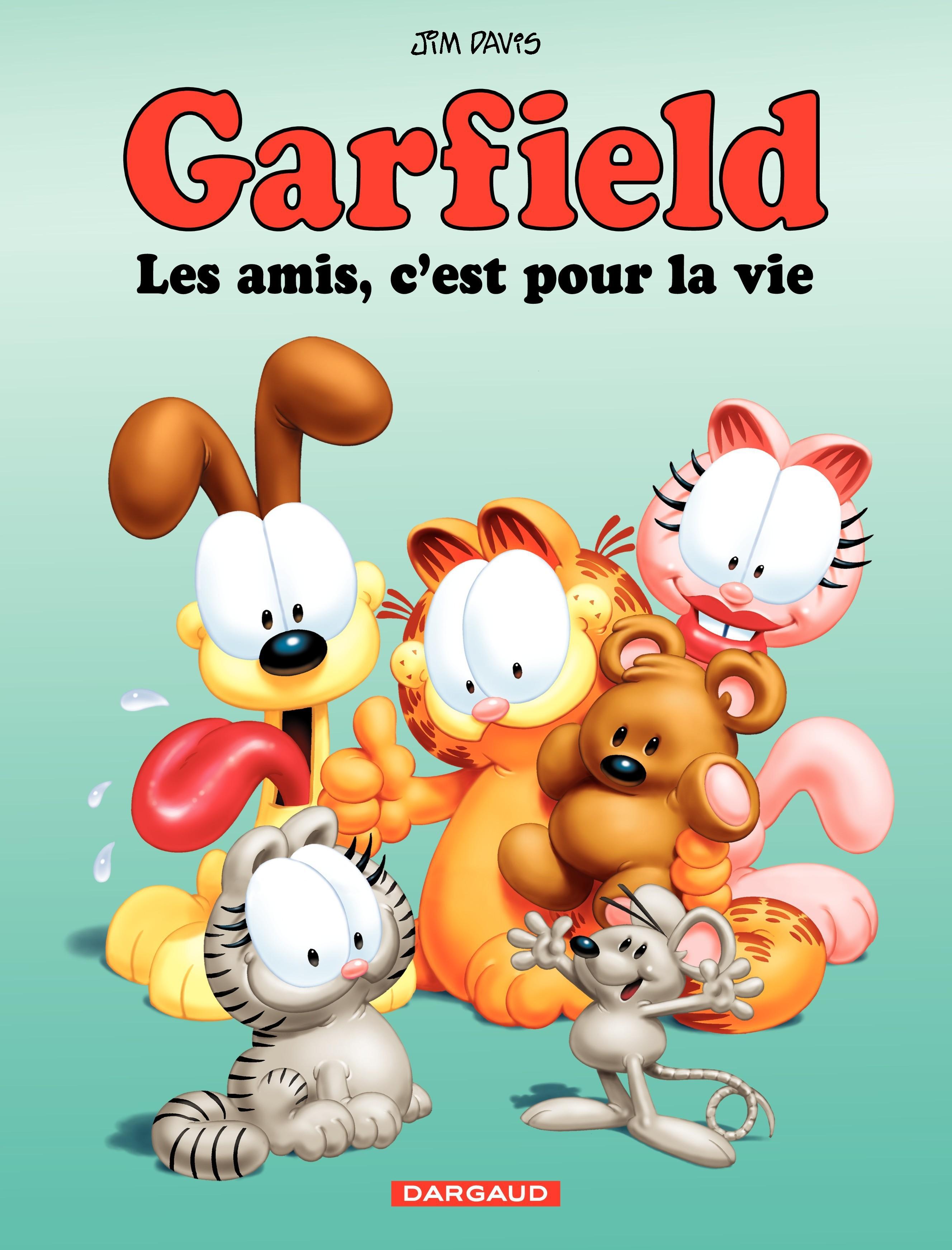 Garfield – tome 56 - Les amis, c'est pour la vie | Davis, Jim