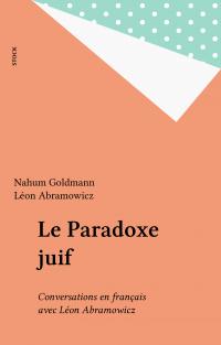 Le Paradoxe juif