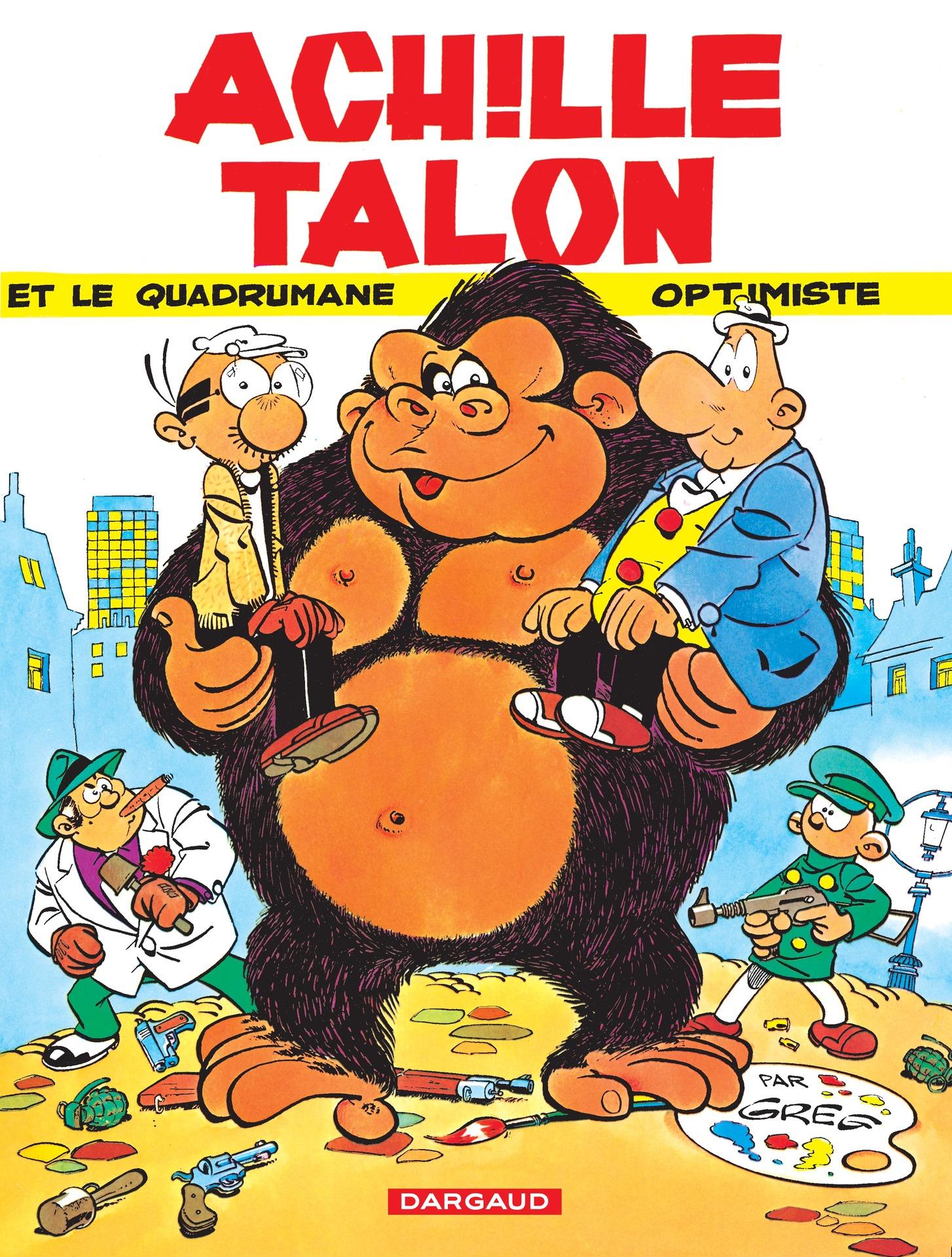 Achille Talon - Tome 15 - Achille Talon et le quadrumane optimiste