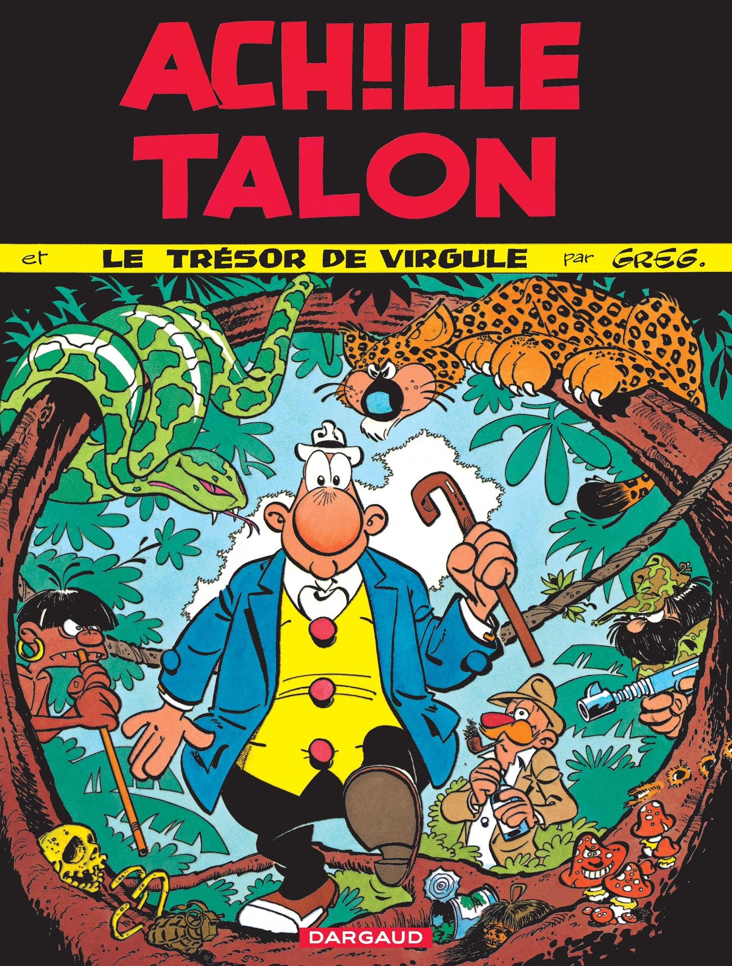 Achille Talon - Tome 16 - Achille Talon et le trésor de Virgule