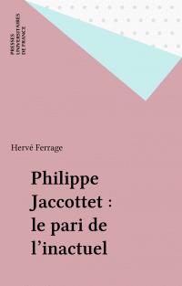 Philippe Jaccottet : le par...