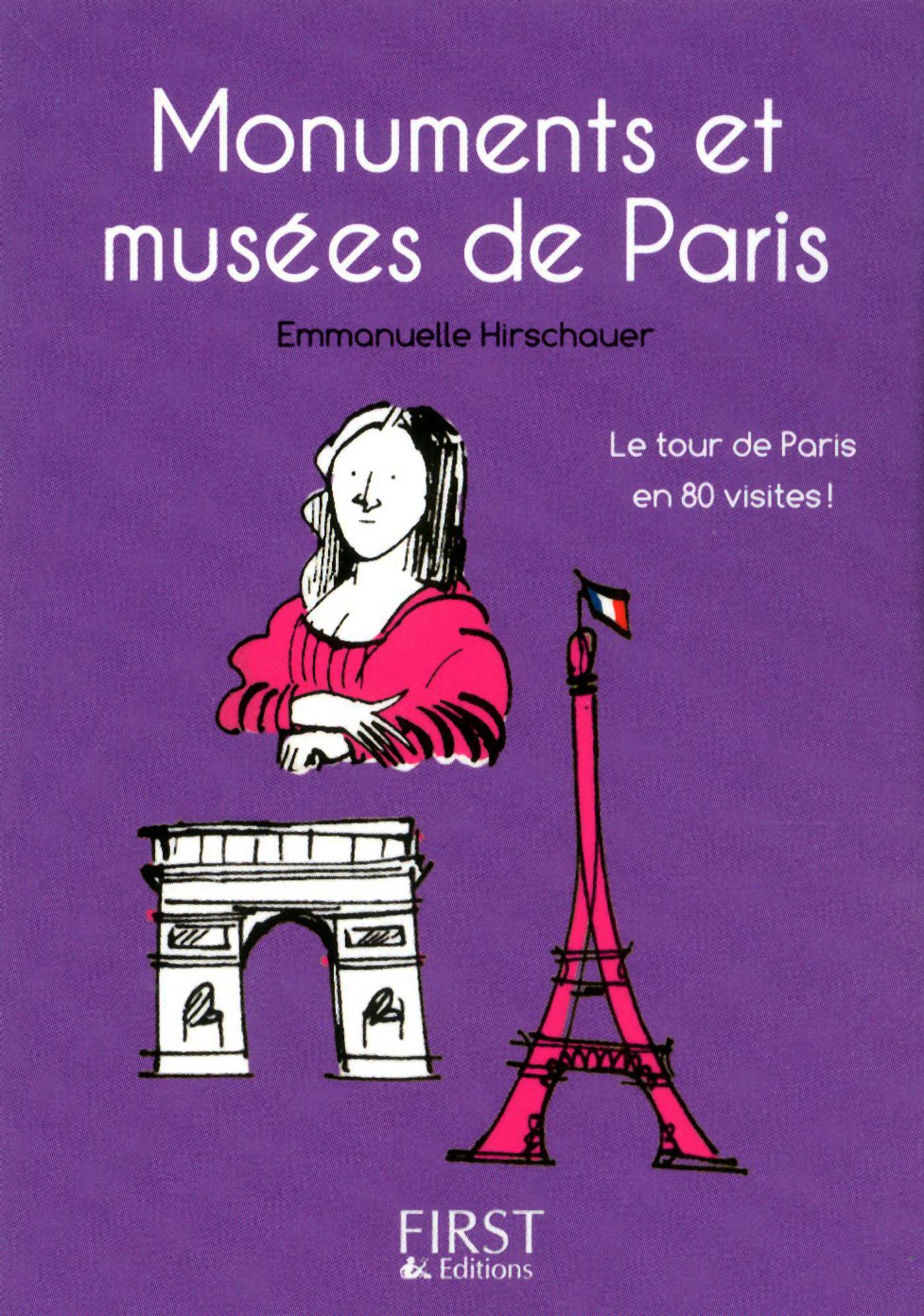 Petit livre de - Monuments et musées de Paris