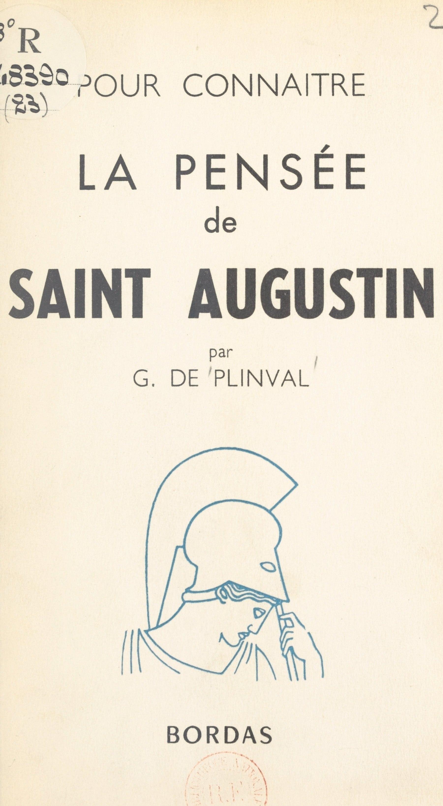 La pensée de Saint Augustin