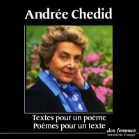 Textes pour un poème, poème...