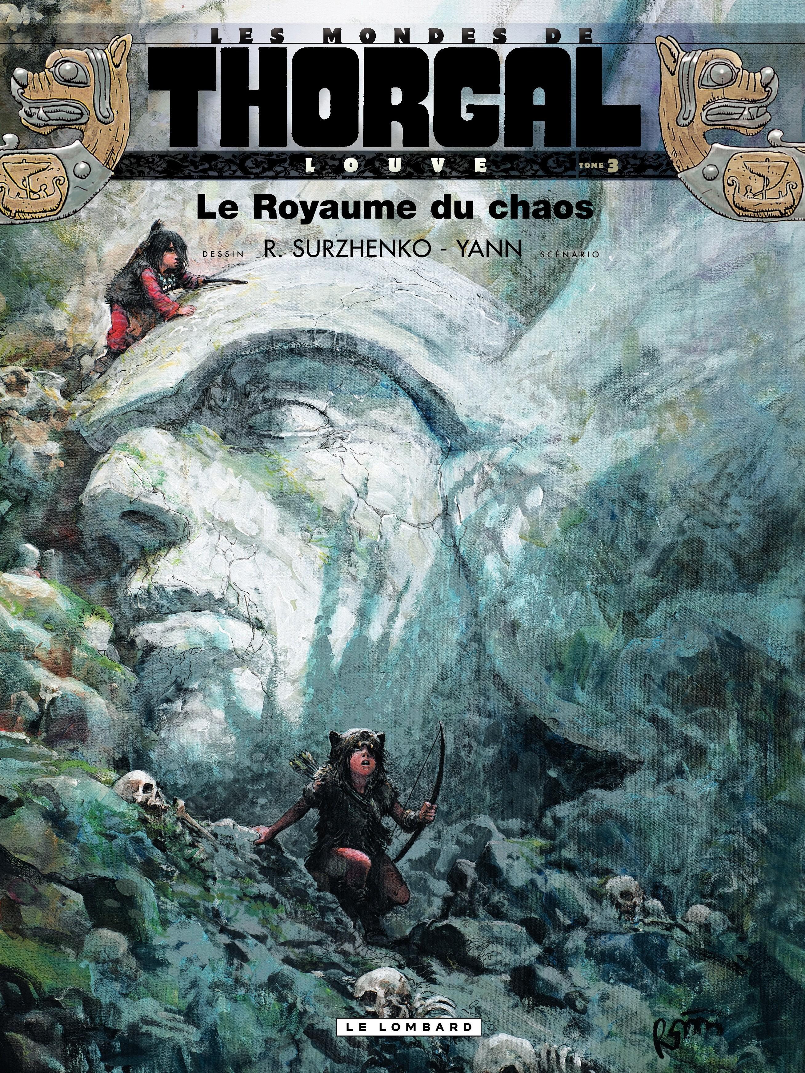 Louve  - tome 3 - Le Royaume du chaos