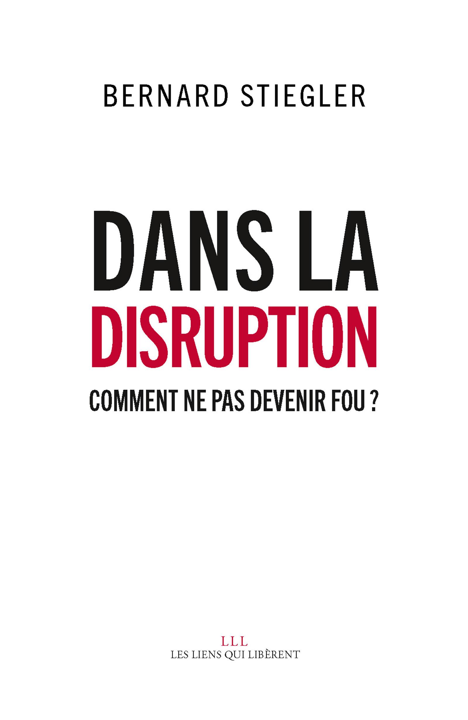 Dans la disruption