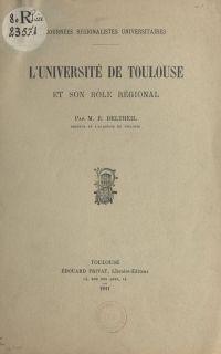 L'Université de Toulouse et...