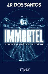 Cover image (Immortel : le premier être humain immortel est déjà né)