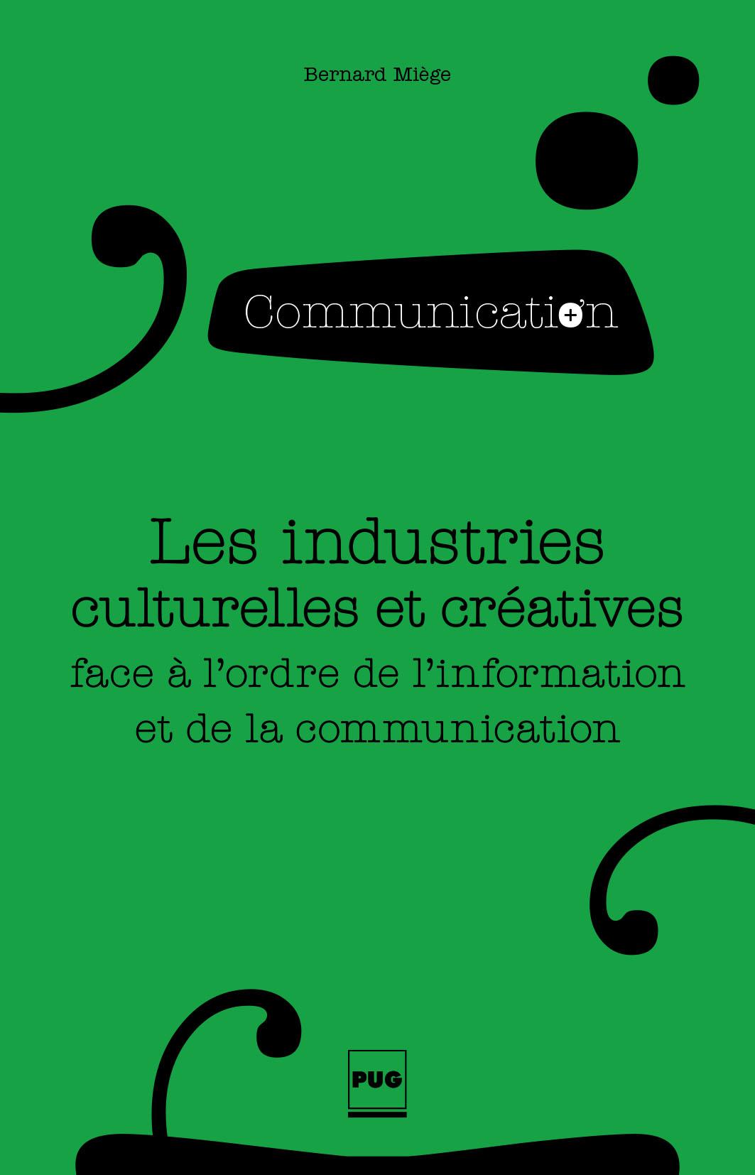 Les industries culturelles ...