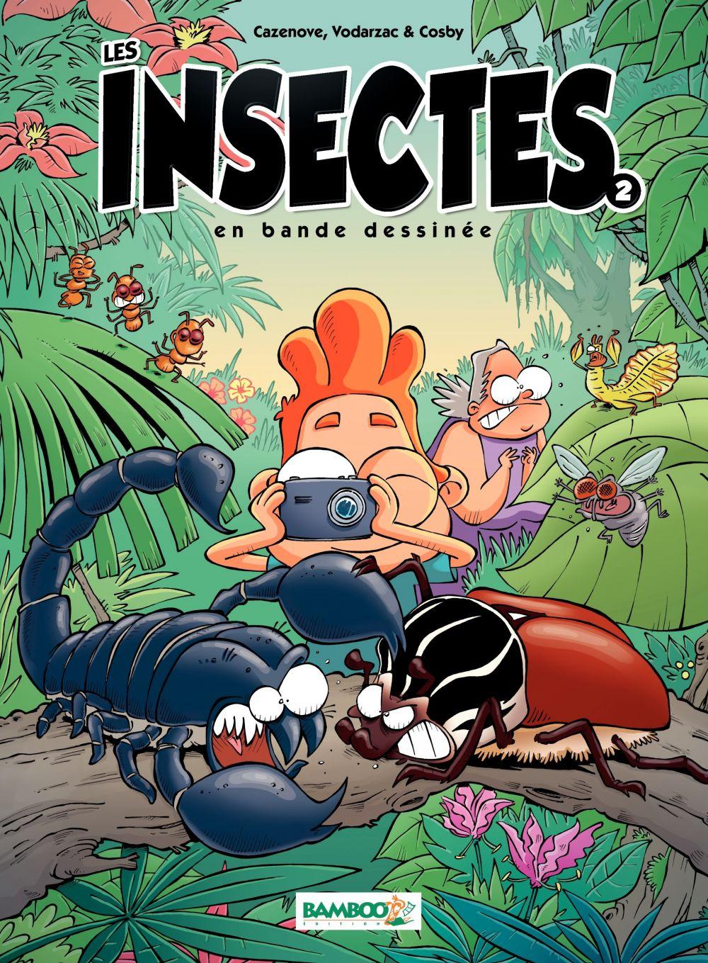 Les Insectes en BD | Christophe Cazenove, . Auteur