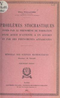 Problèmes stochastiques