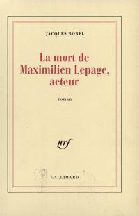 La Mort de Maximilien Lepag...