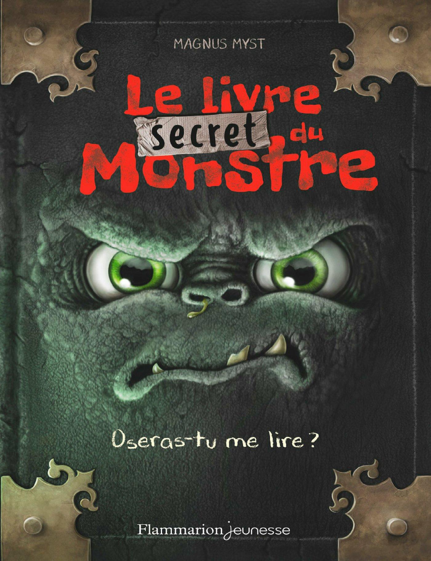 Le livre secret du monstre |