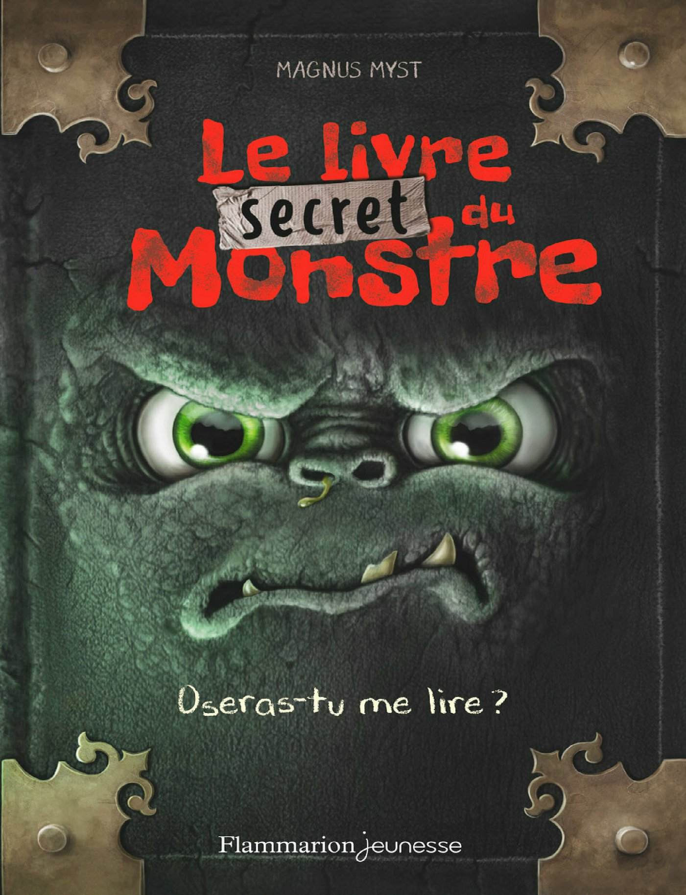 Le livre secret du monstre | Myst, Magnus