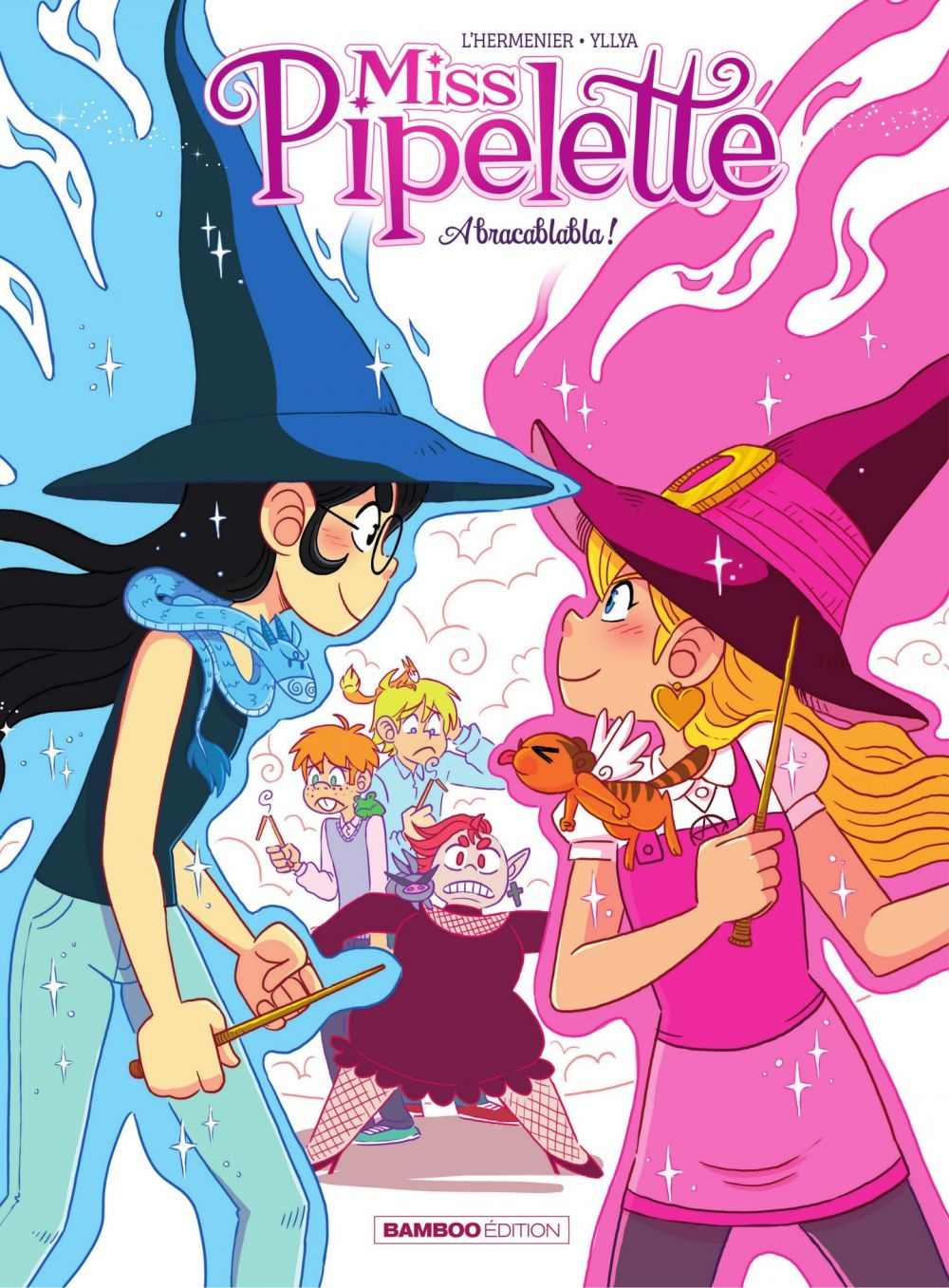 Miss Pipelette - Tome 2 - Abracablabla | Yllya, . Illustrateur