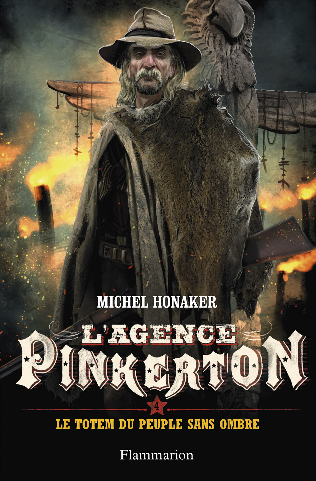 L'agence Pinkerton (Tome 4) - Le totem du peuple sans ombre