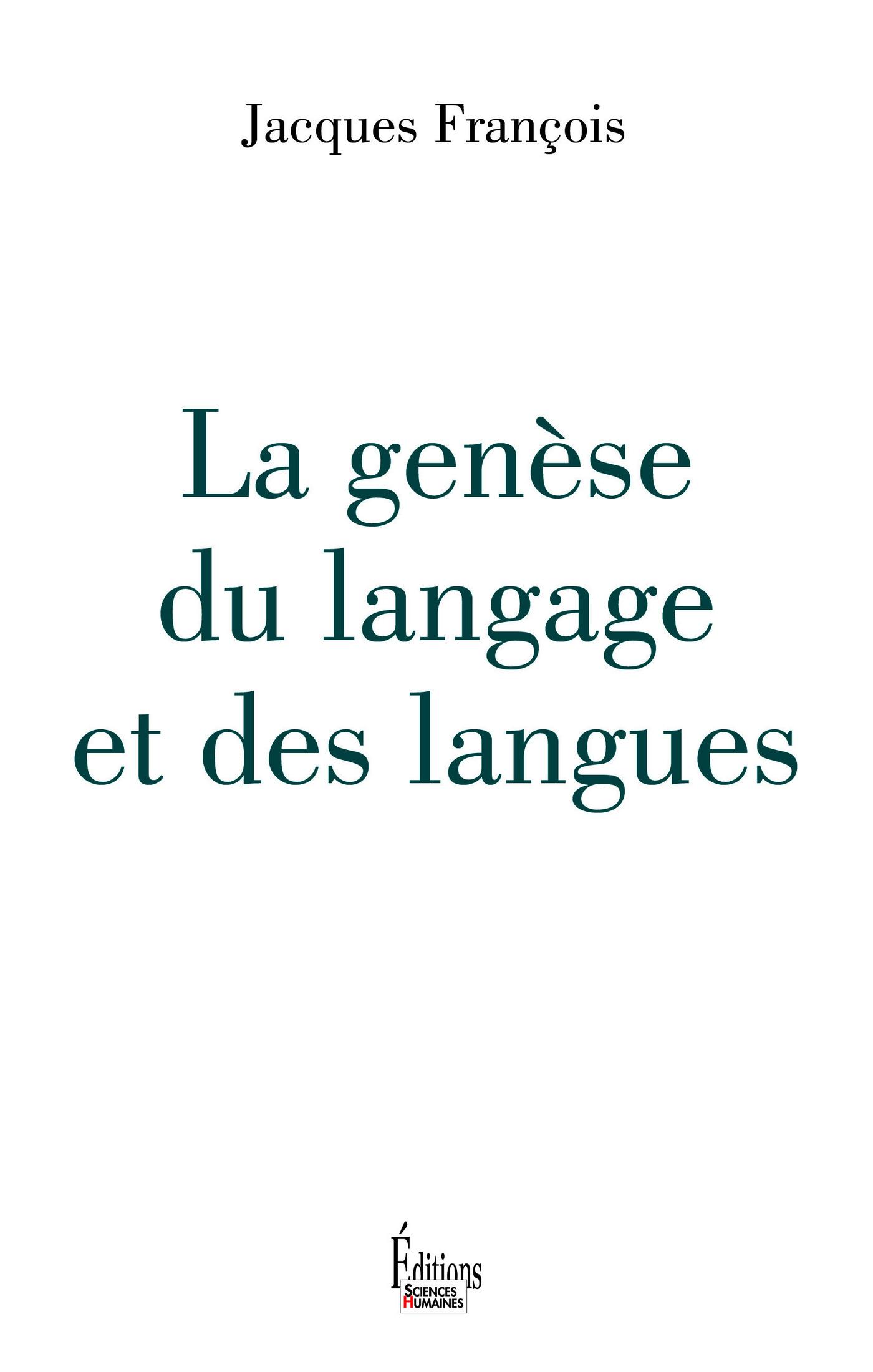 La genèse du langage et des...