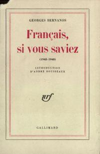 Français, si vous saviez...