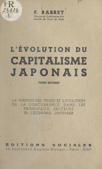 L'évolution du capitalisme ...