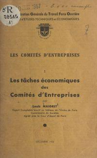 Les comités d'entreprises (1)